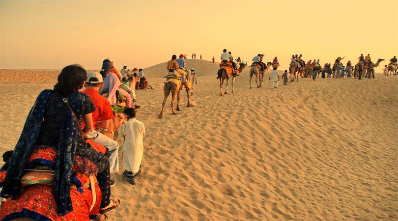 camel rise jaisalmer
