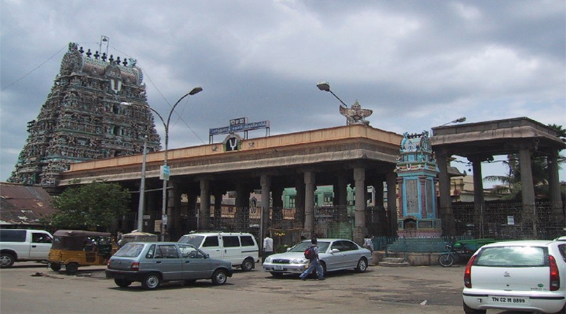 parthasarthy temple