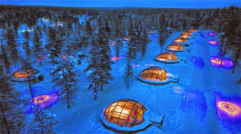 Kakslauttanen, Arctic Resort, Finland