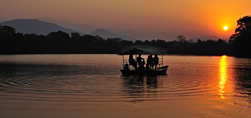Pokhara boating I