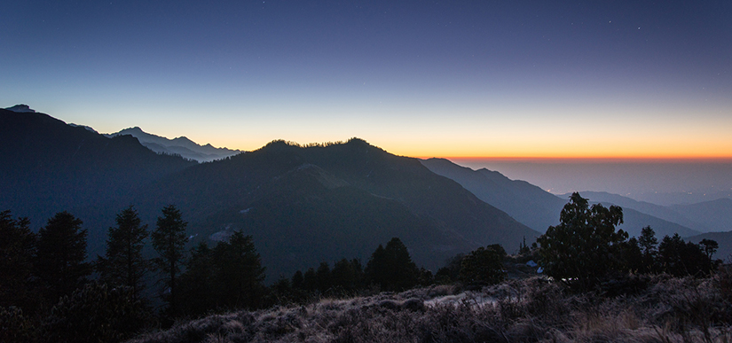 View from ghorepani poonhill II