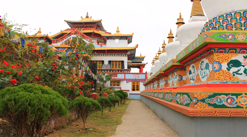 darjeeling buddhisht temple