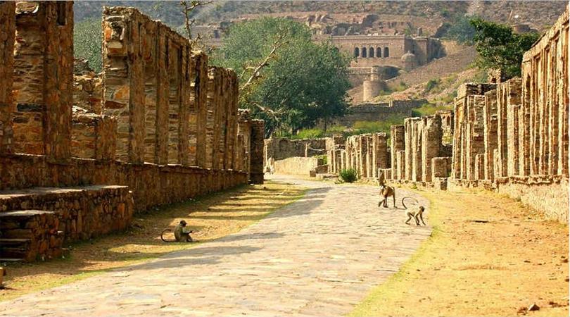 bhangarh fort rajasthan
