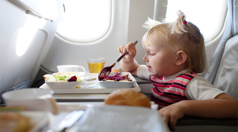 food during on flight