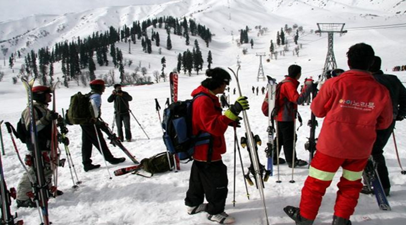 gulmarg in winter