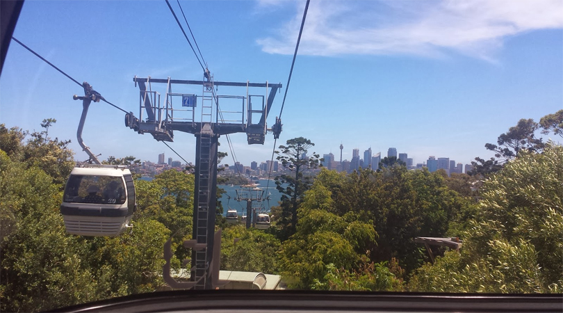 taronga zoo cable car