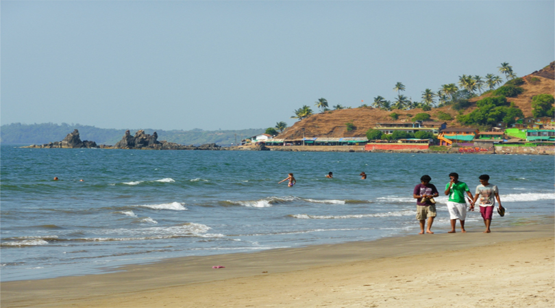 goa arambol beach
