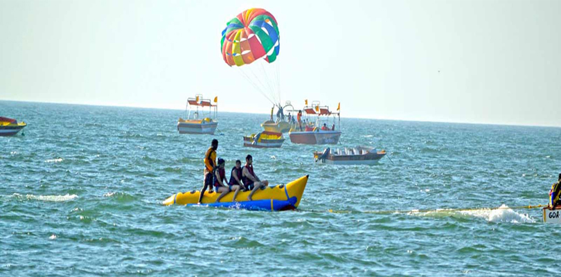 water sports in Goa Beaches