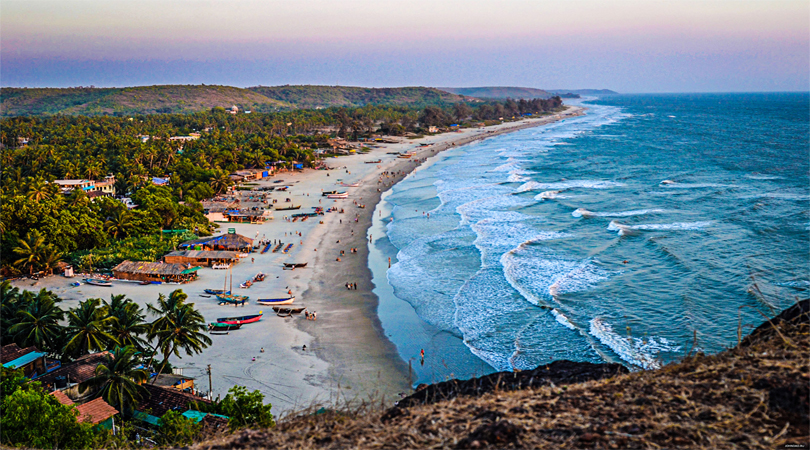 goa cansaulim beach