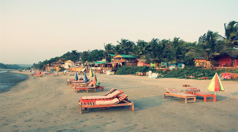 goa mandrem beach