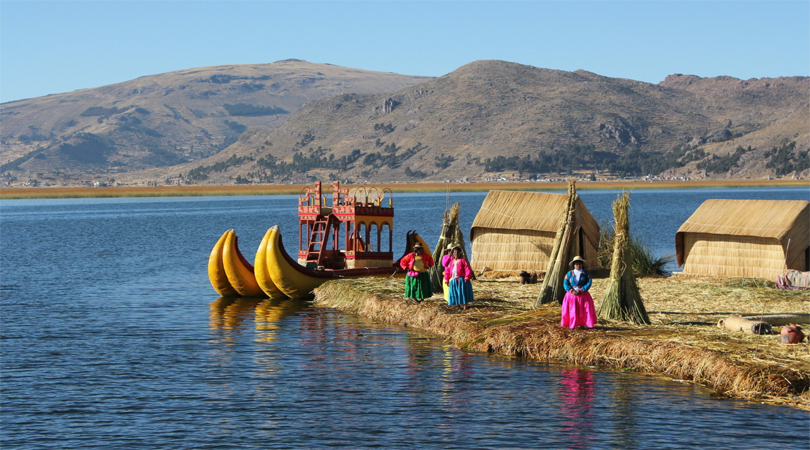 Floating Islands of Uros, Peru