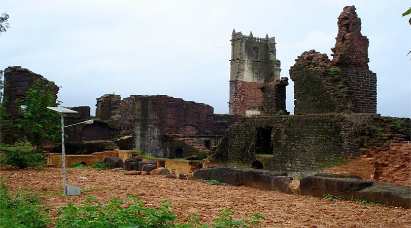 Ruins of the Church of St Augustine