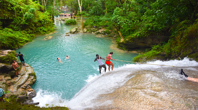 THE BLUE HOLE, OCHO RIOS