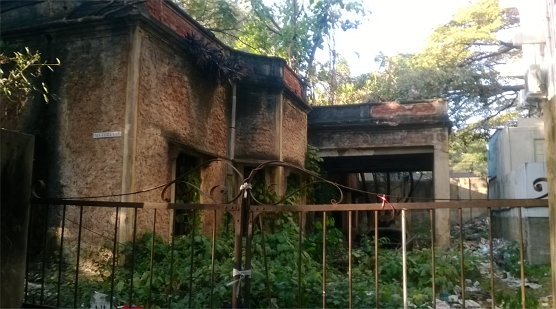 The haunted house on MG Road