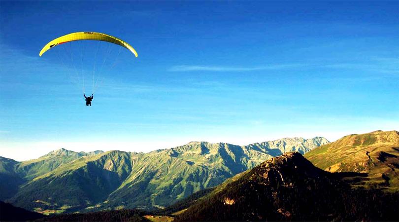 paragliding kashmet