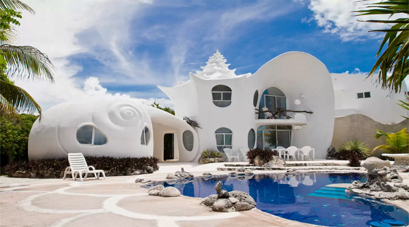 seashells house