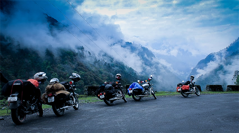 sikkim bike tour