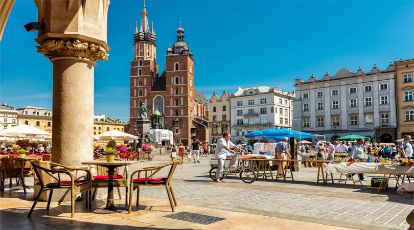 krakow city