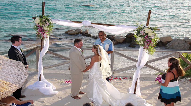 wedding in Bermuda