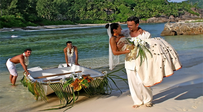 wedding in Seychelles Islands