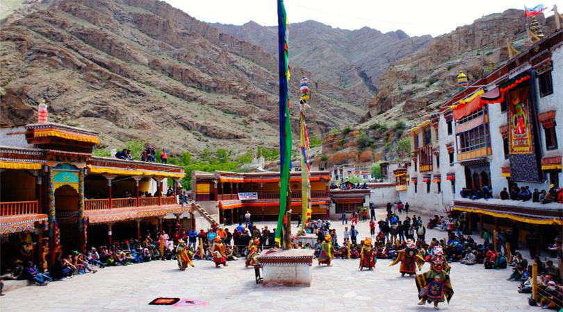 Drukpa monastery in Ladakh