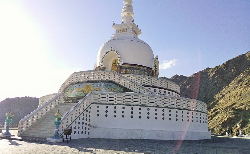 beautiful Shanti supa in Leh