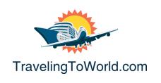 traveling to world logo